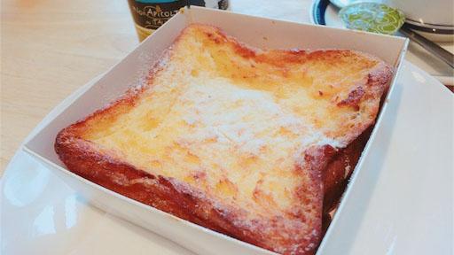 パンとエスプレッソのフレンチトースト