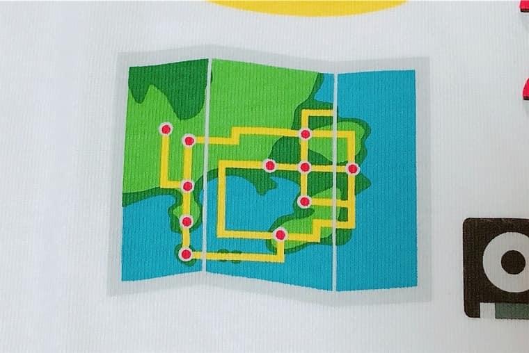 カントー地方の地図