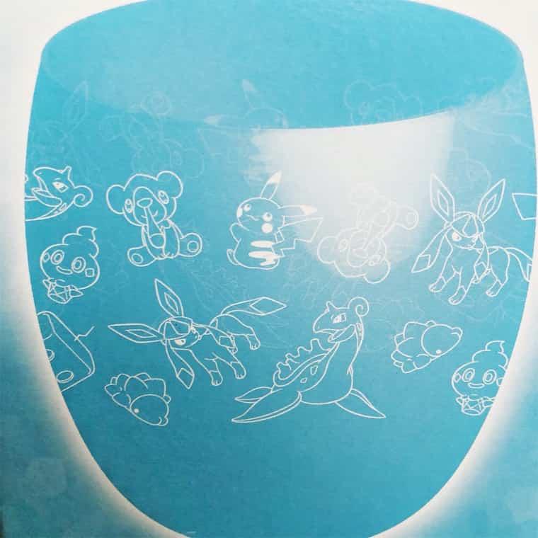 ポケモンのグラス GALARのイラスト