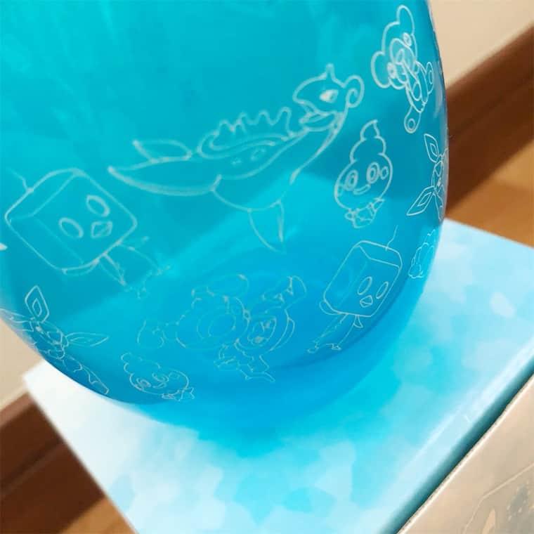 ポケモンのグラス GALARブルー