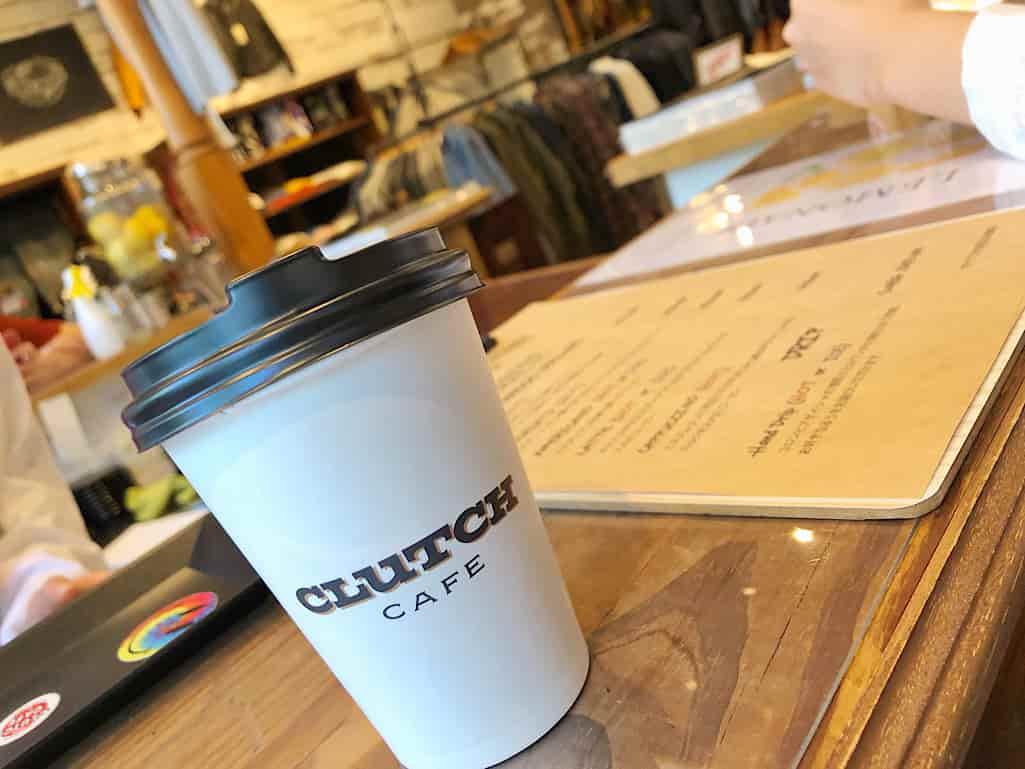 クラッチカフェのコーヒー